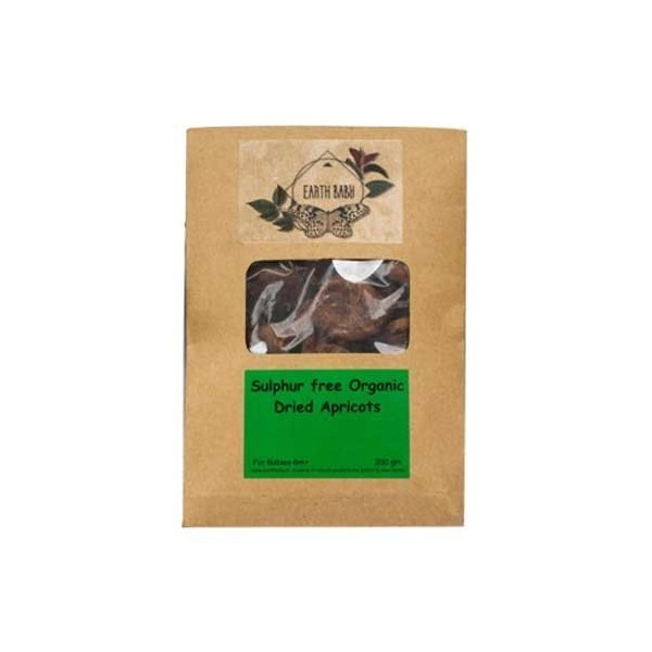 Earth Baby Organic Dried Apricots