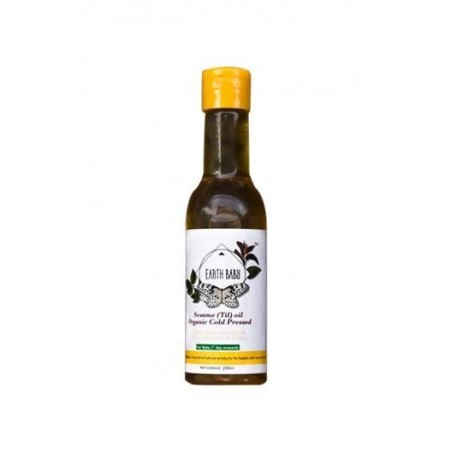 Earth Baby Organic Cold Pressed Sesame Oil (Til Oil)