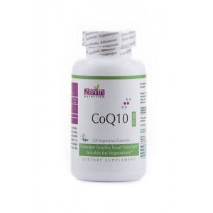Zenith Nutrition- Coq10 - 60Mg -Powerful Antioxidant For Healthy Cardiovascular Function