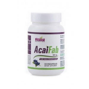 Zenith Nutrition Acaifab - 500Mg- Rich In Antioxidants, Fiber & Minerals