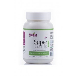 Zenith Nutrition -Super Garlic 1000Mg- Promote Healthy Cholesterol & Blood Pressure.