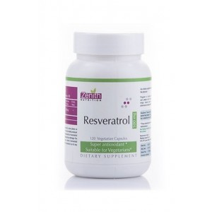 Zenith Nutrition- Resveratrol- 500Mg- Powerful Antioxidant
