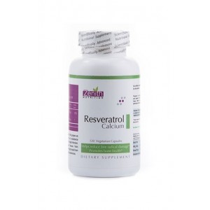 Zenith Nutrition- Resveratrol 100Mg Calcium- Total Body Protection