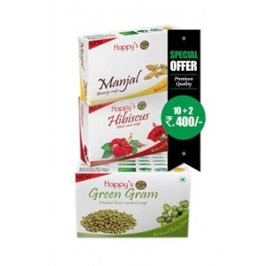 Happy Herbal Care Green Gram Soap 75Gm