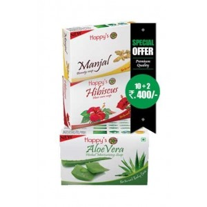 Happy Herbal Care Aloevera Soap 75Gm