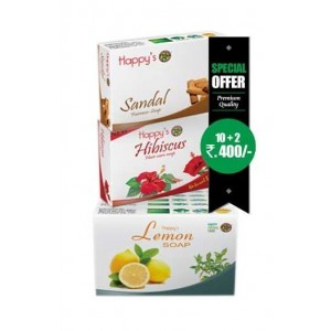 Happy Herbal Care Lemon Soap 75Gm