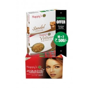Happy Herbal Care Mukhakanthi Soap 75Gm