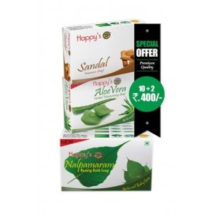 Happy Herbal Care Nalpamaram Soap75Gm