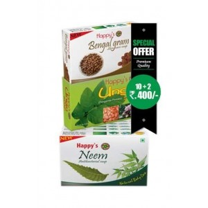 Happy Herbal Care Neem Soap 75Gm