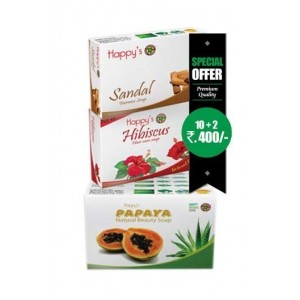 Happy Herbal Care Papaya Soap 75Gm