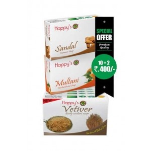 Happy Herbal Soap Vetiver...