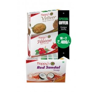 Happy Herbal Care Red Sandal Soap 75Gm