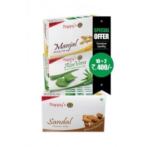 Happy Herbal Care Sandal Soap 75Gm