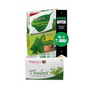 Happy Herbal Care Tulsi Soap 75Gm