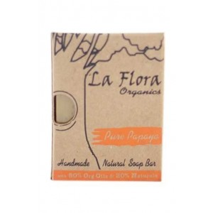 La Flora Pure Papaya Handmade Soap
