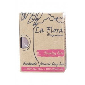 La Flora Country Rose Aromatic Soap Bar