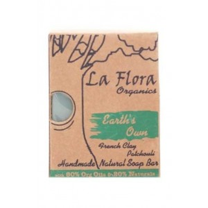 La Flora Earth'S Own Patchouli Handmade Soap