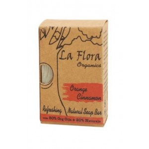 La Flora Orange Cinnamon Handmade Soap