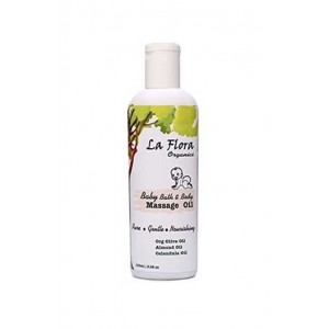 La Flora Baby Bath & Body Massage Oil