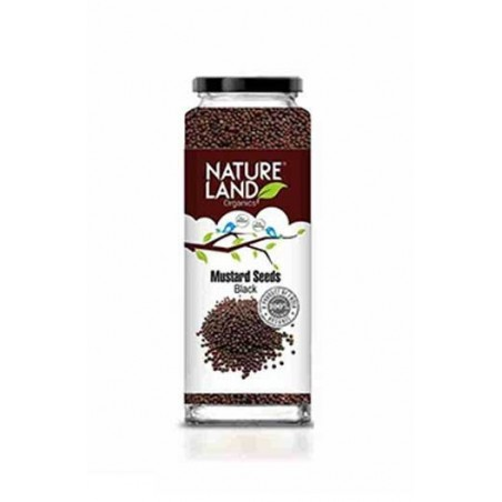 Natureland Organics Mustard Black 150 Gm