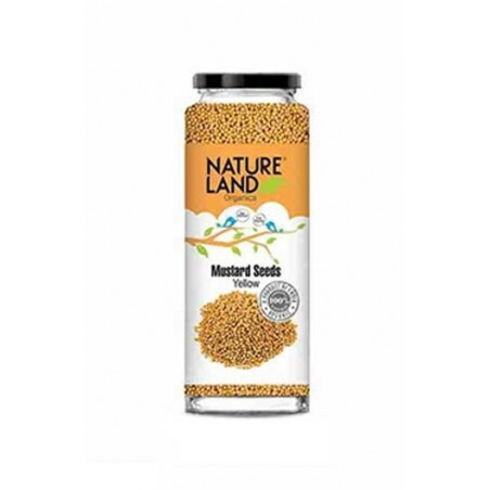 Natureland Organics Mustard Yellow 150 Gm