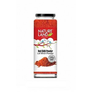 Natureland Organics Red Chilli Powder 100Gm (Pack Of 3)