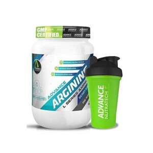 Advance Nutratech Combo Arginine Aminos Pre-Workout 200Gm Unflavoured Raw Powder With Shaker