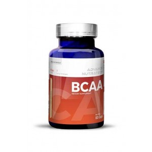 Advance Nutratech Bcaa 60 Capsules Pre-Workout Amino Source For Beginners