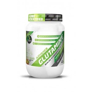 Advance Nutratech Glutamine 300Gm 0.66Lbs Fruit Punch Flavour Pre Workout Recovery Trai
