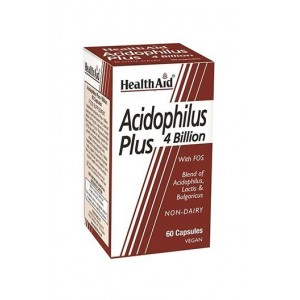 Healthaid Acidophilus Plus (4 Billion) 60 Capsules