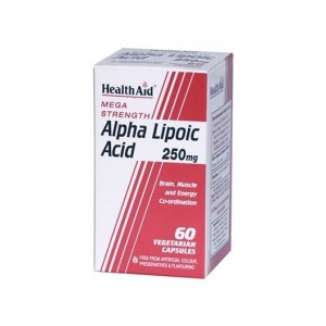 Healthaid Alpha Lipoic Acid 250Mg ( Mega Strength) 60 Capsules