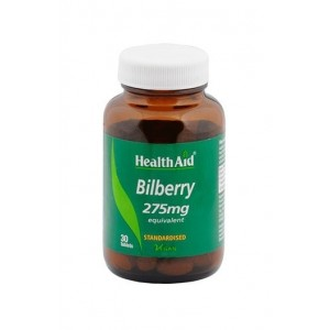 Healthaid Bilberry 30 Tablets