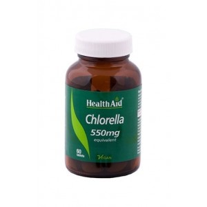 Healthaid Chlorella 550Mg 60 Tablets