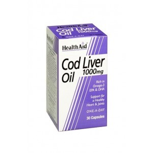 Healthaid Cod Liver Oil 1000Mg 30 Capsules