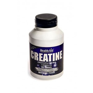 Healthaid Creatine (Monohydrate) 1000Mg 60 Tablets