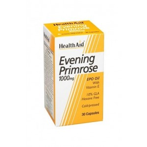 Healthaid Evening Primrose Oil 1000Mg With Vitamin E 30 Capsules