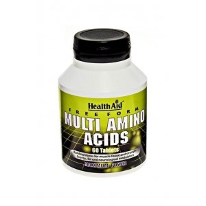 Healthaid Free Form Multi Amino Acid 60 Tablets
