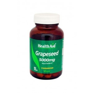 Healthaid Grapeseed Extract 5000Mg (Equivalent) 60 Tablets