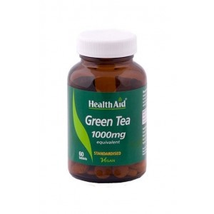 Healthaid Green Tea Extract 1000Mg (Equivalent) 60 Tablets
