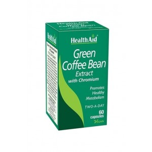 Healthaid Green Coffee Bean Extract With Chromium 60 Capsules