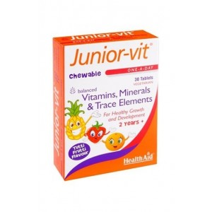 Healthaid Juniorvit 30 Chewable Tablets