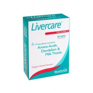 Healthaid Livercare (Prolonged Release) 60 Tablets