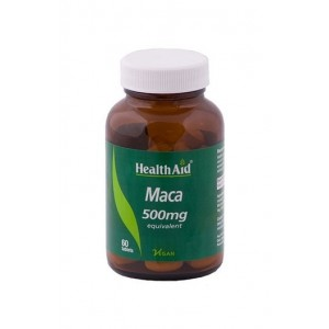 Healthaid Maca 500Mg (Equivalent) 60 Tablets