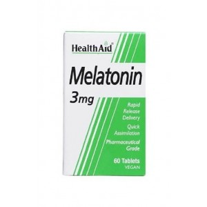 Healthaid Melatonin 3Mg 60 Tablets