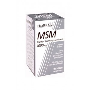 Healthaid Msm 1000Mg 90 Tablets
