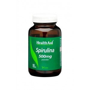 Healthaid Spirulina 500Mg 60 Tablets