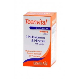 Healthaid Teenvital (Multivitamin & Minerals With Lutein) 30 Tablets