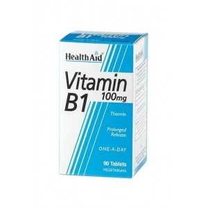 Healthaid Vitamin B1 100Mg (Thiamin) 90 Tablets