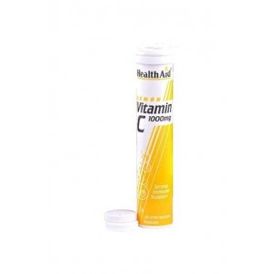 Healthaid Vitamin C 1000Mg (Lemon) 20 Effervescent Tablets