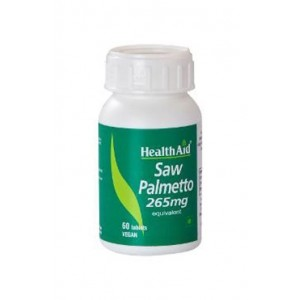 Healthaid Saw Palmetto 265Mg (Equivalent) 60 Tablets